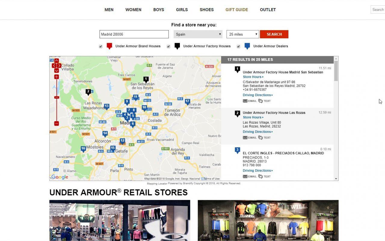 Puno excusa Laos  Retail Espagne: Under Armour envisage d'ouvrir un magasin phare - Le  Courrier d'Espagne