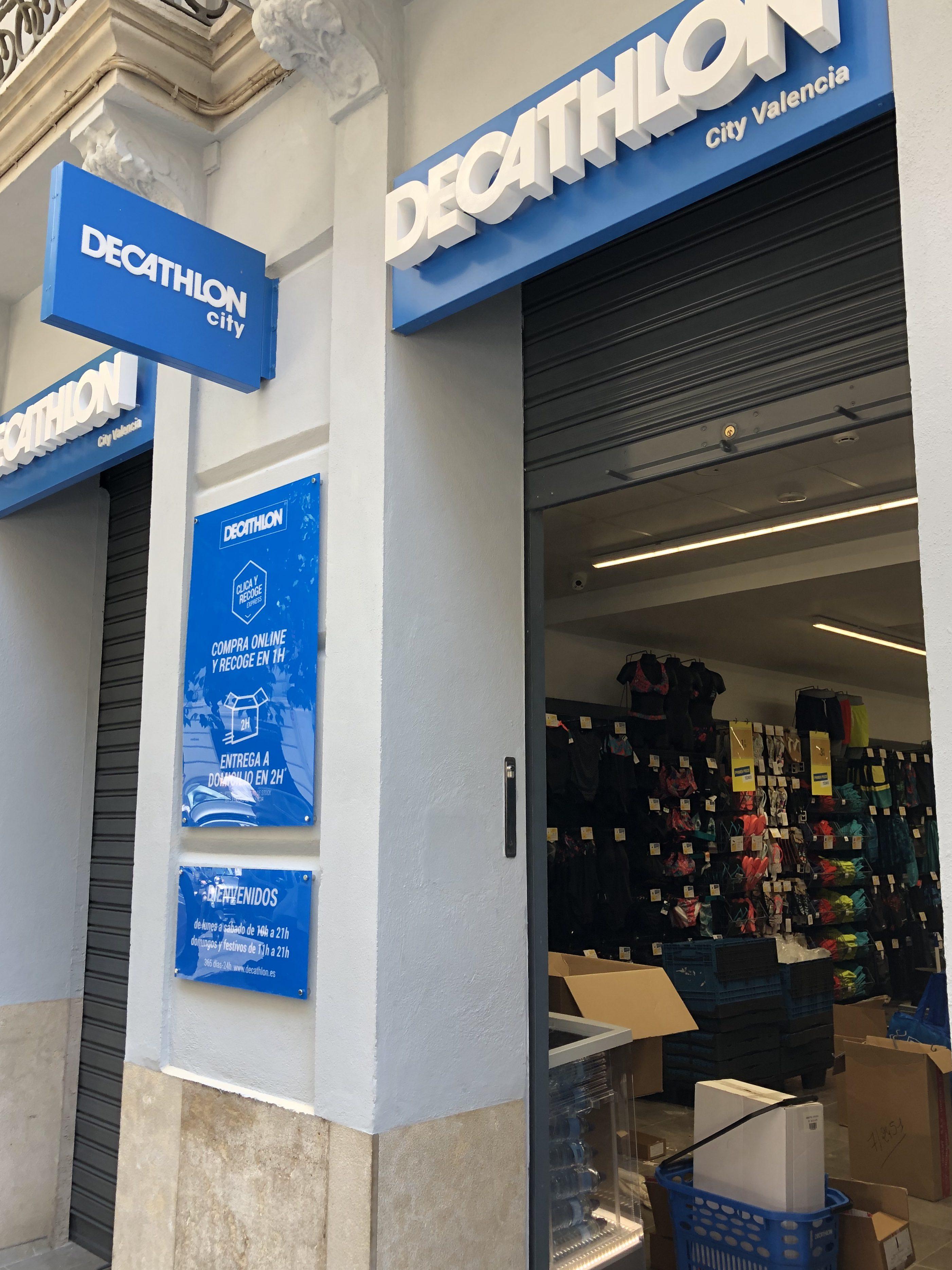 """87561fbad7d Ouverture ce vendredi du """"Décathlon City"""" de Valencia - Le Courrier  d'Espagne"""